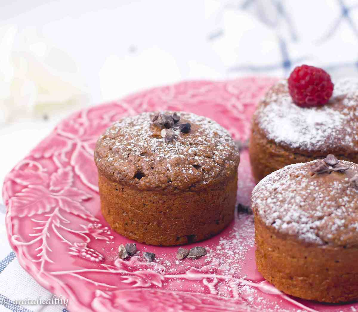 Muffins chocolate gluten-free | Anita Healthy