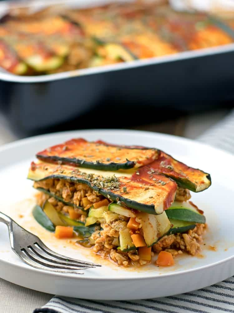 Low Carb Zuchinni Lasagna