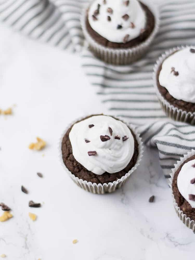 Muffins Saudáveis de Alfarroba