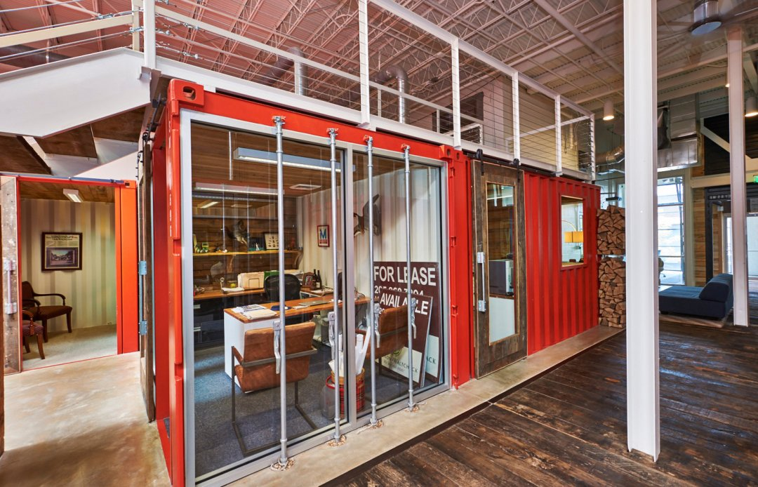 Is it a Shipping Container or a Private Office? - Anita Turner