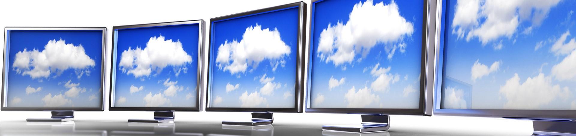 Cloud on monitors