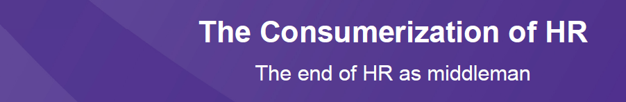 Consumerization of HR banner
