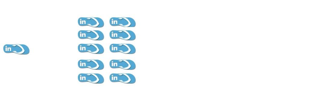 LinkedIn slippers