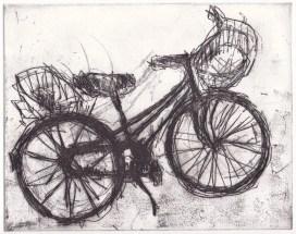 Bicyclette – 2017 Vernis mou 21,1 X 16,3