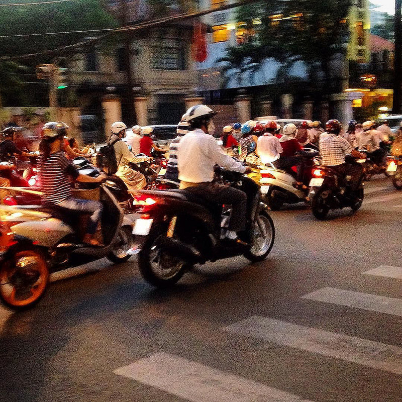 Street Photography in Saigon, Vietnam
