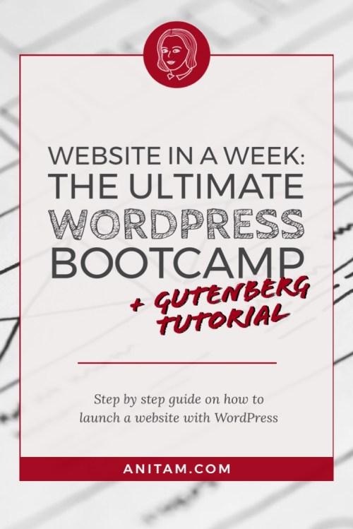 AnitaM | WordPress Web Design Tutorial
