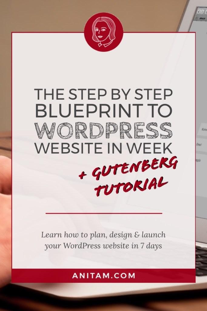 WordPress Website in Week | AnitaM