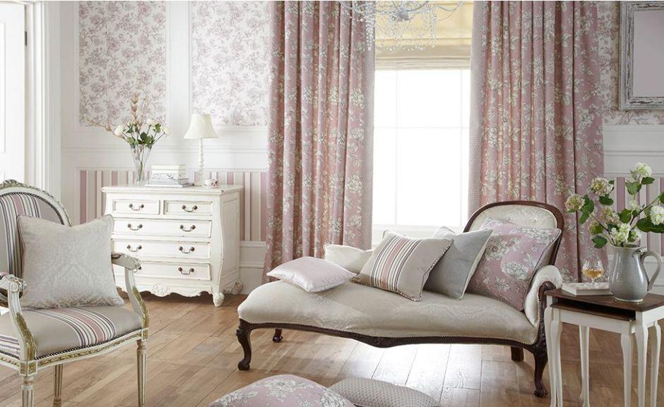 iLiv Aquitaine Collection Fabric Anitas Soft Furnishings Warner Street Accrington