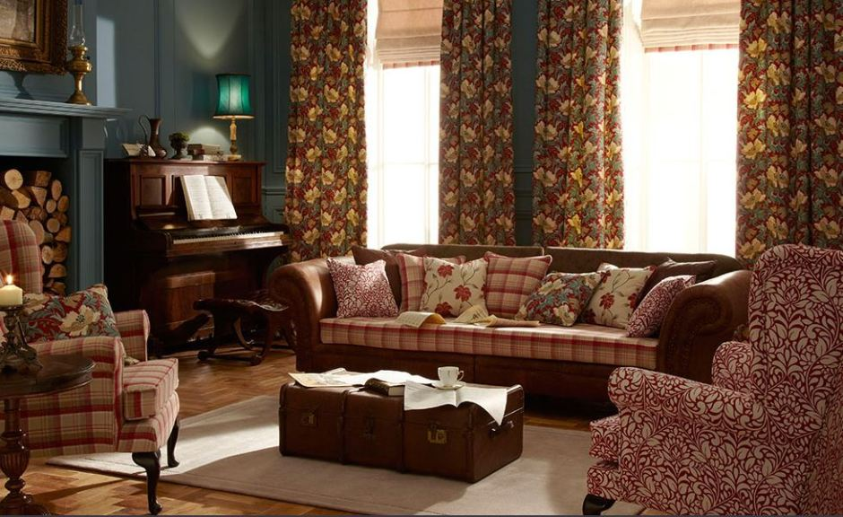 iLiv Art Deco Collection Fabric Anitas Soft Furnishings Warner Street Accrington