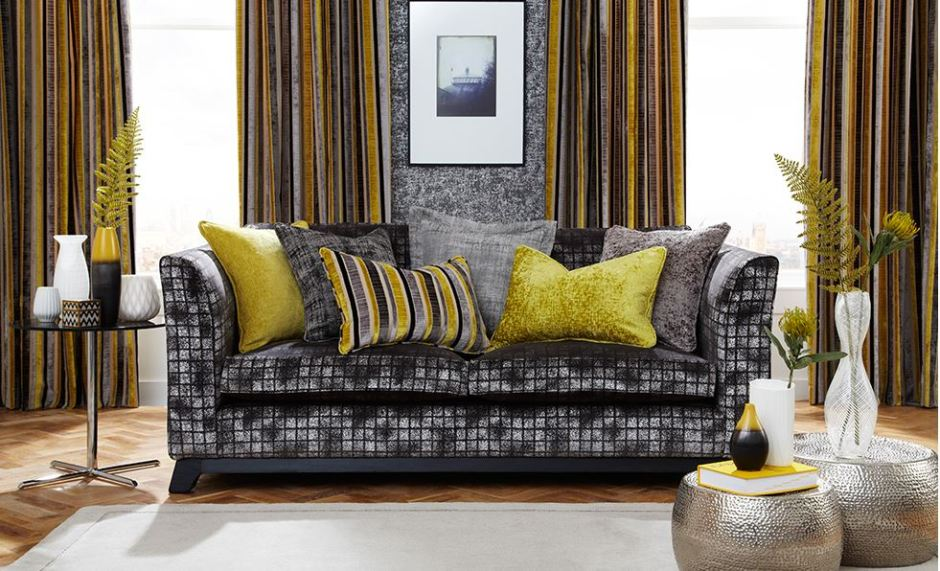 iLiv Imperio Collection Fabric Anitas Soft Furnishings Warner Street Accrington