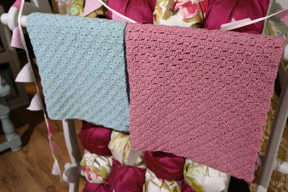 Crocheted Blankets and Pram Blankets