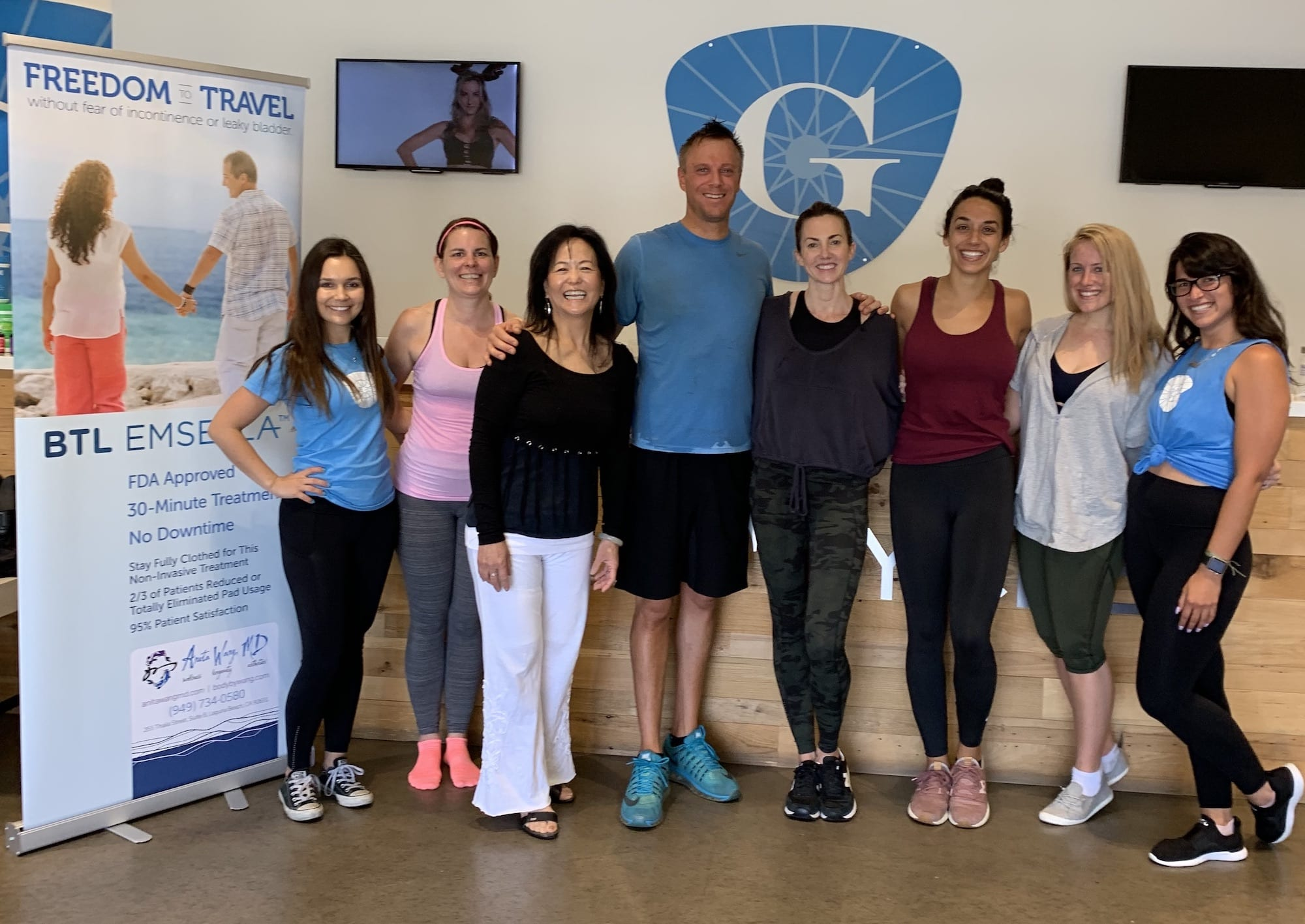 Anita Wang MD teaches Wellness at GritCycle