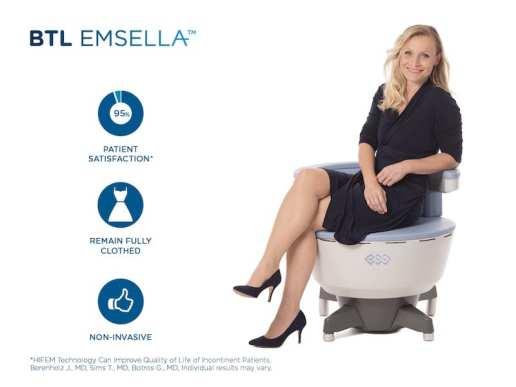 Dr. Anita Wang - BTL Emsella Chair