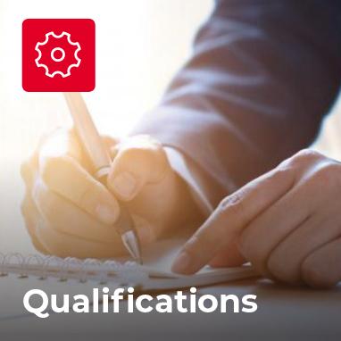 Qualifications Anitec