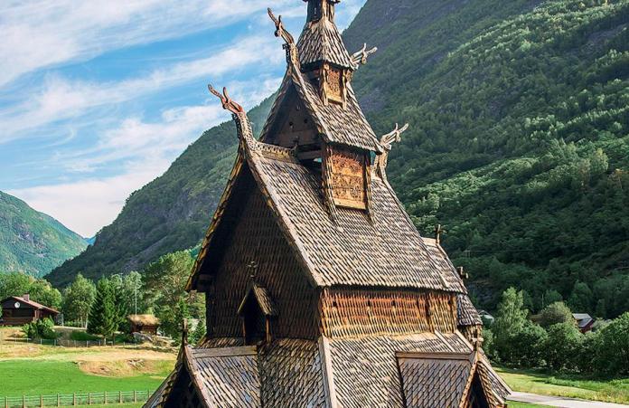 4. Εκκλησία Borgund Stave, Νορβηγία (Φωτογραφία: SHUTTERSTOCK)