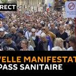 Και πάλι «πεδίο μάχης» το Παρίσι και οι γαλλικές πόλεις: «Όχι στο πιστοποιητικό διαχωρισμού του Μακρόν»