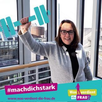 2018-03 DGB-Kampagne Wasverdient die Frau Anja Butschkau