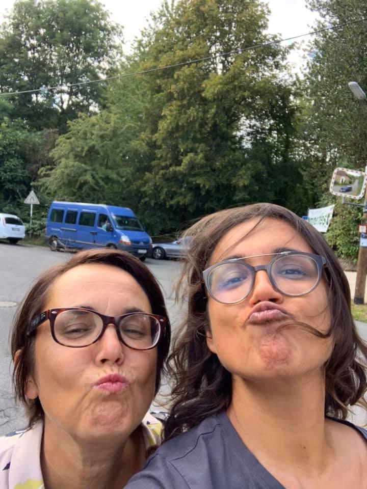 Anja Butschkau und Tochter Nele