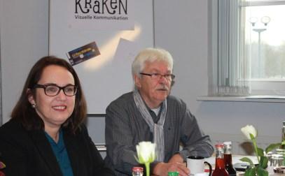 Georg Deventer vom Verein Pro-Dortmund e.V. stellte das Programm für die Benefizveranstaltung und die Unterstützer*innen des Projekts vor.