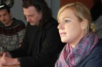Katrin Lauterborn leitet das Gast-Haus. Die Zahl der Obdachlosen in Dortmund sei in den letzten Jahren gestiegen. Eine Zielgruppe erfordere besondere Aufmerksamkeit: obdachlose Frauen.