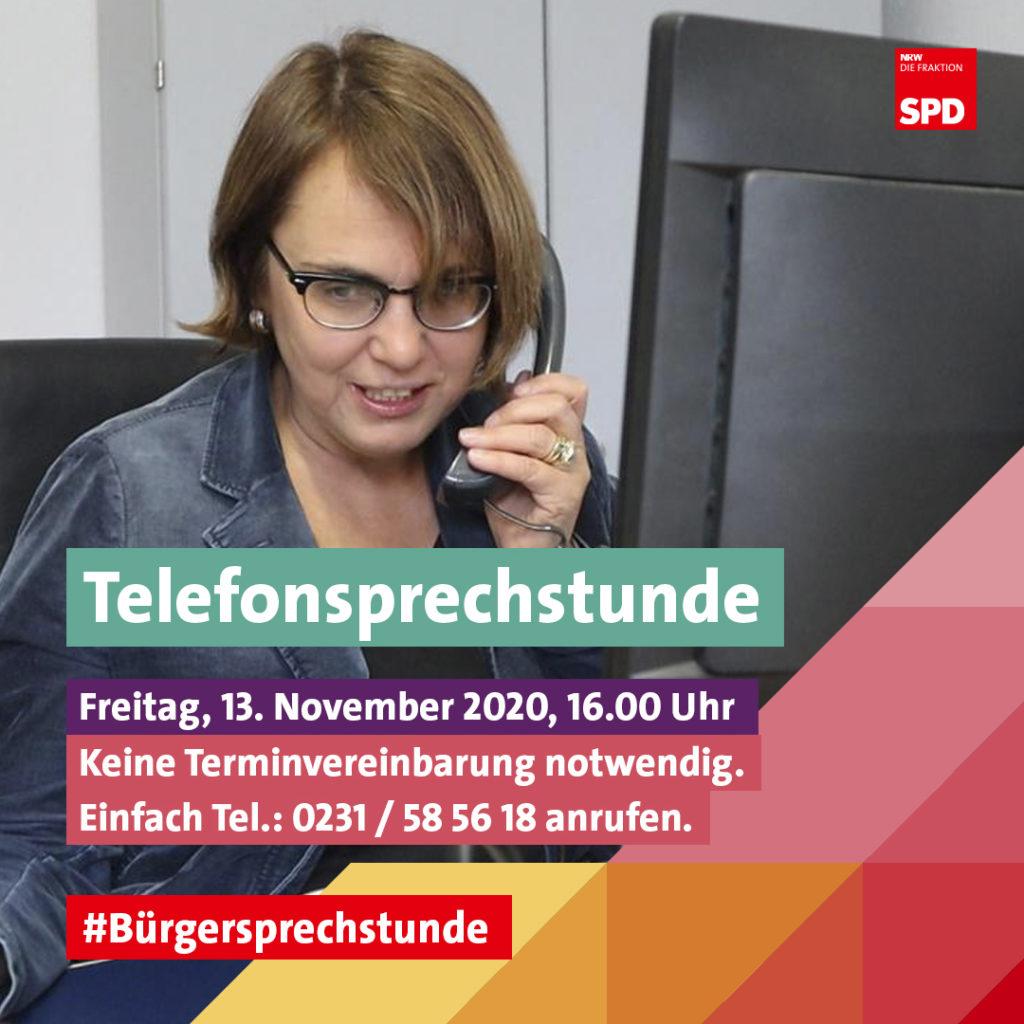 Telefonsprechstunde Bürgersprechstunde Anja Butschkau Sprechstunde 13.11.2020