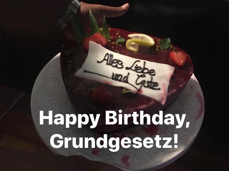 Happy Birthday Grundgesetz