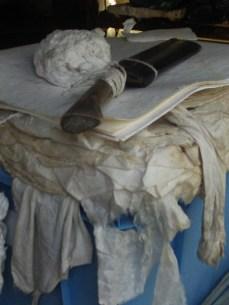 Blot paper and pulp
