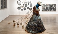 Anja Marais Artist - The Ballast, 2014, Photo-montage Mixed Media and Found Objects, Dimensions Variable