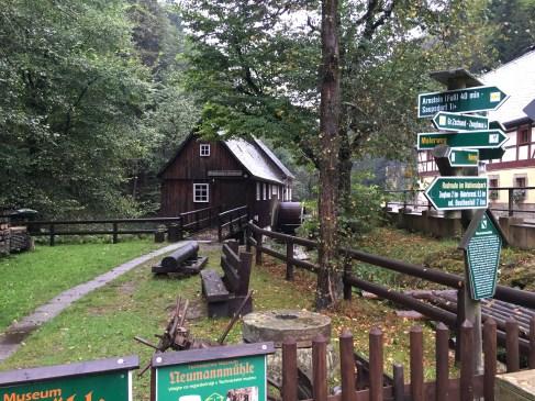 Neumannmühle (Sägemühle als Museum)