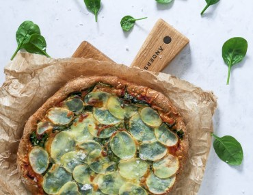 Nordisk surdejspizza / kartoffelpizzza