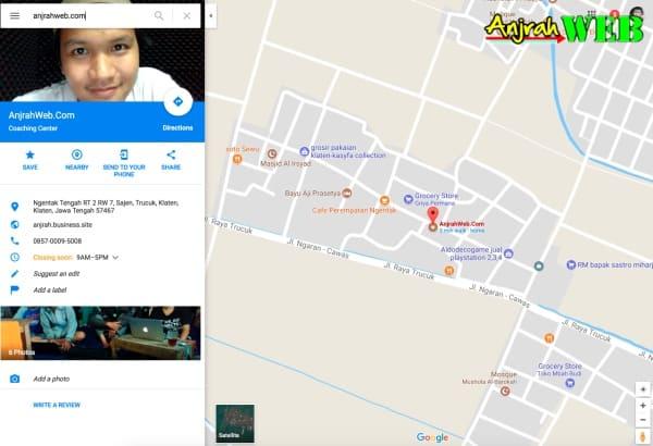 Cara Membuat Denah Lokasi Dengan Google Map