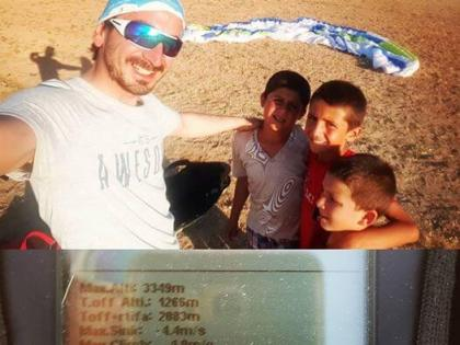 Fıratı Geçen İlk ANKA Pilotu : İbrahim SORGUN