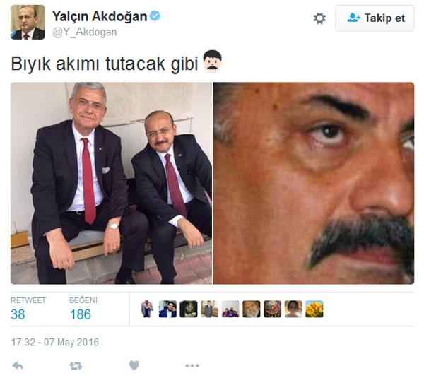 Ak Parti'de bıyık akımına Türkeş de dahil oldu!