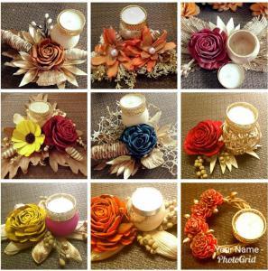 Designer Diwali Candles