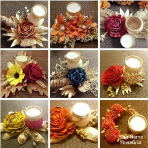 Candles and Diyas