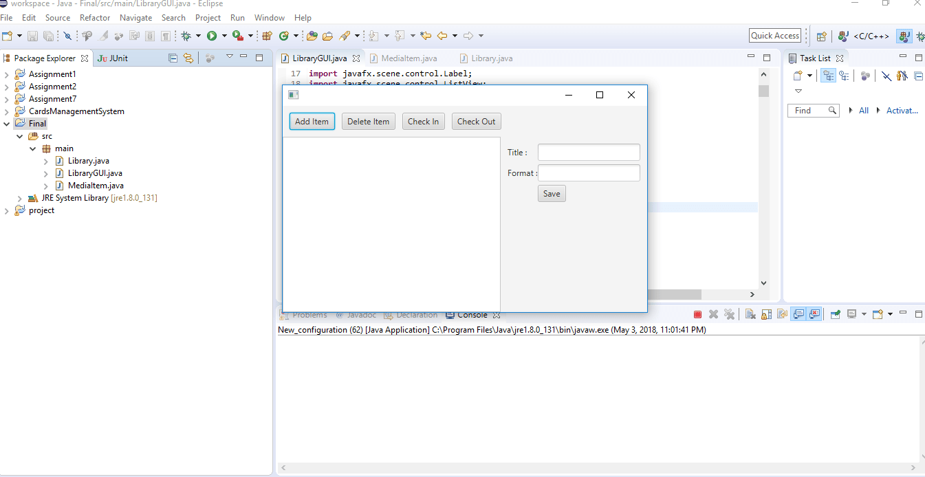 Final Project - Improved JavaFX GUI Personal Lending Library Solved -  ankitcodinghub
