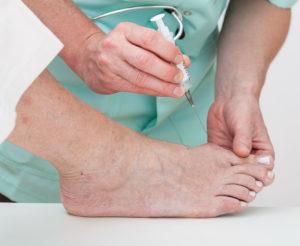 foot pain falls