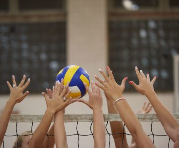 volleyball block
