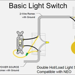 Single Light Switch Wiring Diagram 2002 Saturn Sl1 Fuel Pump Ankuoo Of Hot Load That Does Not Work With Neo