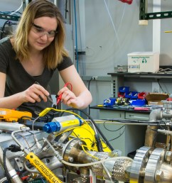 visiting iit professor carrie hall troubleshoots the engine wiring harness the argonne system can replicate [ 1600 x 900 Pixel ]