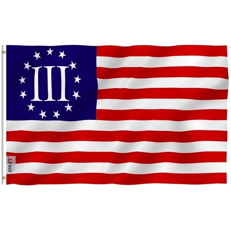 Nyberg Three Percent Flag