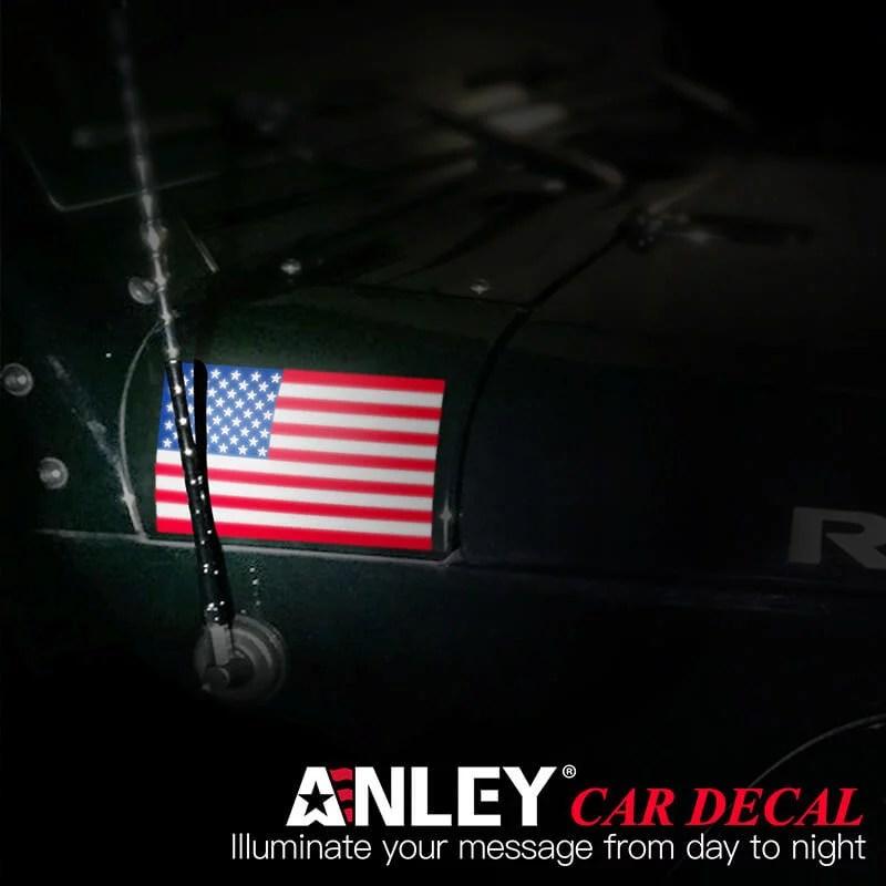 American flag decal