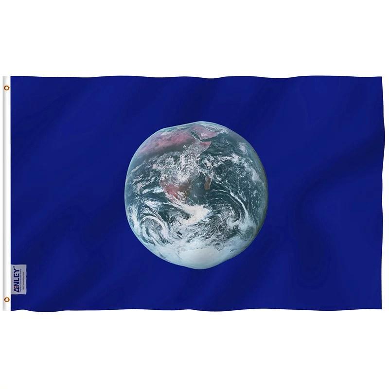 Earth day flag