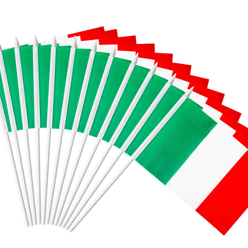 Italy Stick Flag