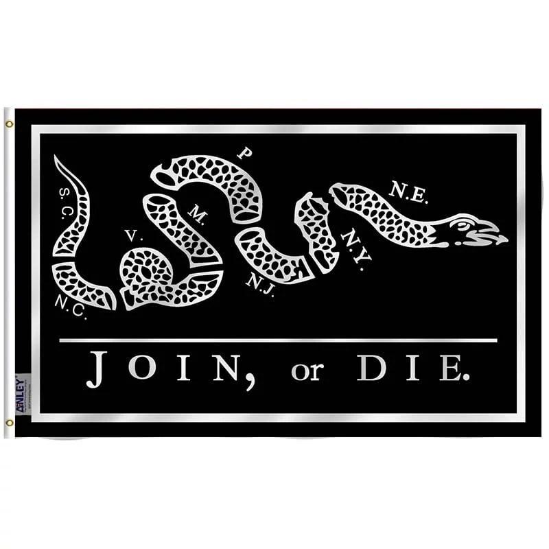 Join Or Die Black