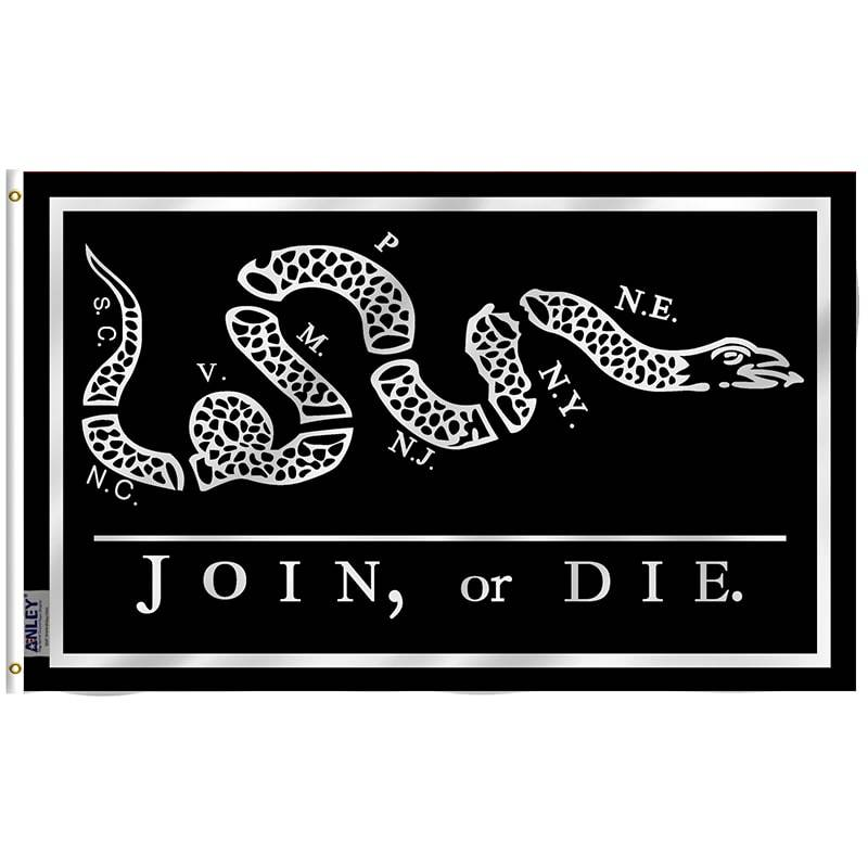 Join Or Die Black