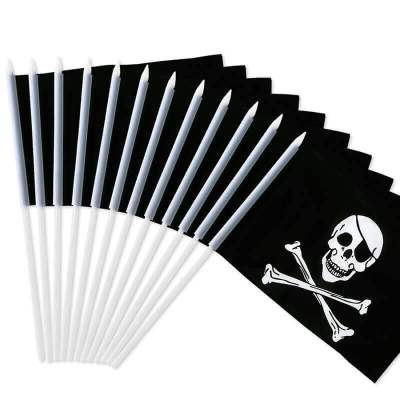 Pirate flag stick flag