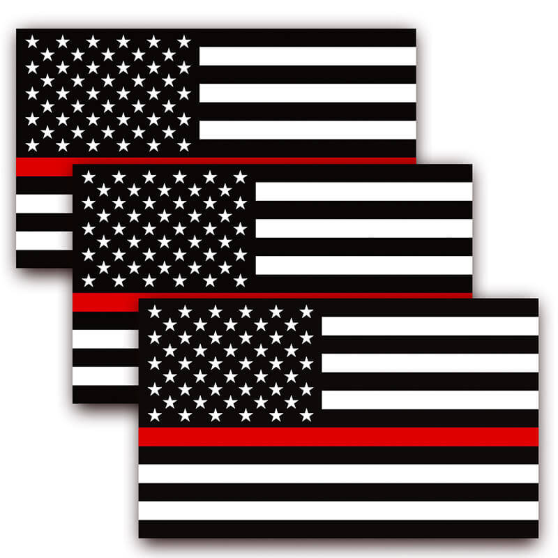 us thin red line decal