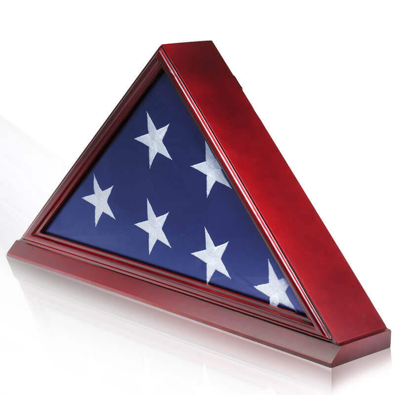 burial flag case