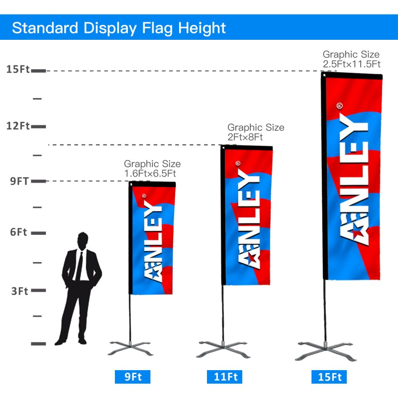 rectangle flag US
